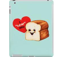 Bread Valentine iPad Case/Skin