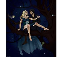 The Pirate and the Star Princess Photographic Print
