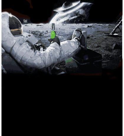 Earth From Moon Funny Sci-Fi Doom Sticker