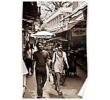 Shopping in Burma - Tachilek, Burma Poster