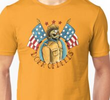 Teddy Roosevelt Tattoo Flash Unisex T-Shirt