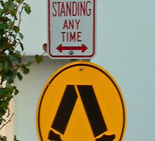 no standing by Neil Mouat