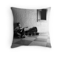 Complacency Throw Pillow
