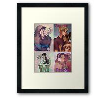 HOO Couples Framed Print