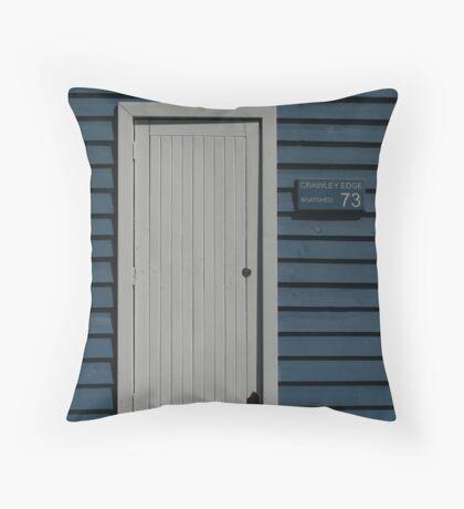 Crawley Edge Boatshed, Perth Throw Pillow