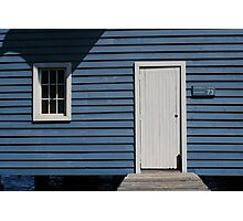 Crawley Edge Boatshed, Perth Photographic Print