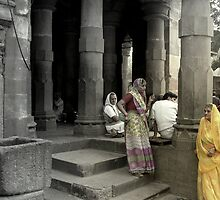 The temple visitors by nisheedhi