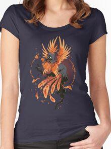 Avian Arsonist Women's Fitted Scoop T-Shirt