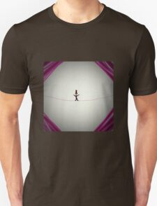BALANCE STICKMAN! art by AC KELLY Unisex T-Shirt