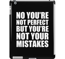 No You're Not Perfect - Kanye West iPad Case/Skin