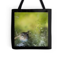 Surfacing Tadpole, Algae Tangle Tote Bag