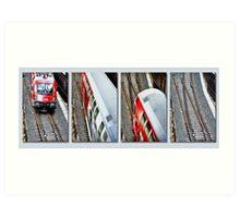 Trainspotting Art Print