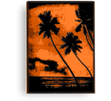 PERFECT Tropical Vacation! Canvas Print