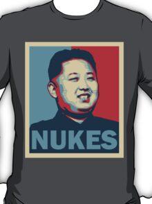 Kim Jong-un NUKES T-Shirt