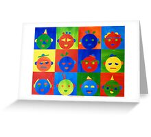 For kids 2 Greeting Card