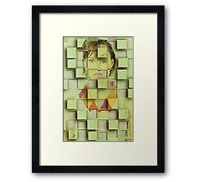 cube me Framed Print