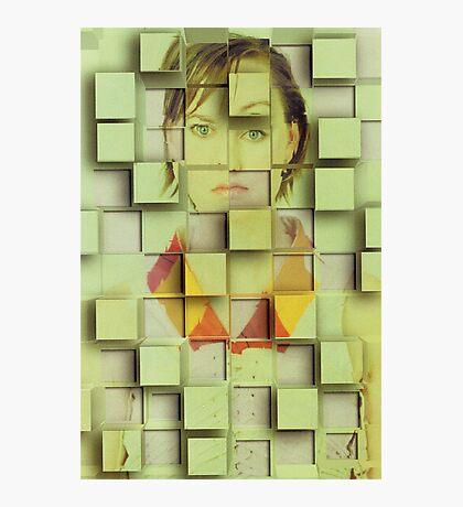 cube me Photographic Print