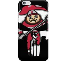 Ohio State Punisher Skull Brutus  iPhone Case/Skin