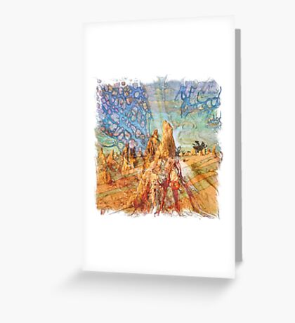The Atlas Of Dreams - Color Plate 92 Greeting Card