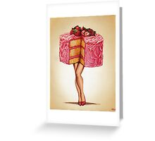 Hot Cakes Greeting Card