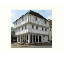 Thaxted Guild Hall Art Print