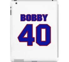 National football player Bobby Anderson jersey 40 iPad Case/Skin