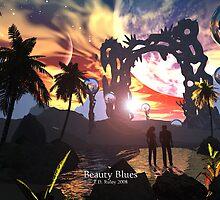 Beauty Blues by Dreamscenery
