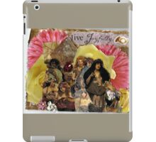 Live Joyfully iPad Case/Skin