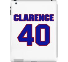 National football player Clarence Williams jersey 40 iPad Case/Skin