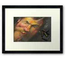 Michelangelo Rebirth! Framed Print