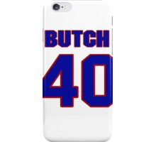 National football player Butch Woolfolk jersey 40 iPhone Case/Skin