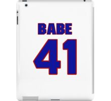 National football player Babe Dimancheff jersey 41 iPad Case/Skin