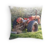 The old Massey Throw Pillow