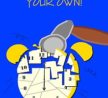 Retirement card - broken alarm clock by EddyG