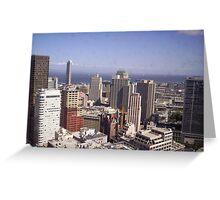 San Francisco and Bay Greeting Card