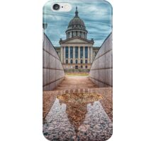 Oklahoma State Capitol Building - Color iPhone Case/Skin