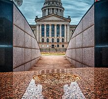 Oklahoma State Capitol Building - Color by Jim Felder