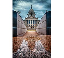 Oklahoma State Capitol Building - Color Photographic Print