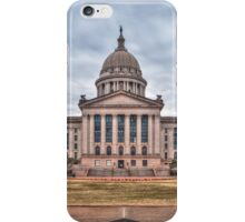 Oklahoma State Capitol Building iPhone Case/Skin