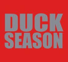 DUCK Season (Gray) by Victor  Dandridge