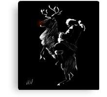 Time Lord Santa Canvas Print