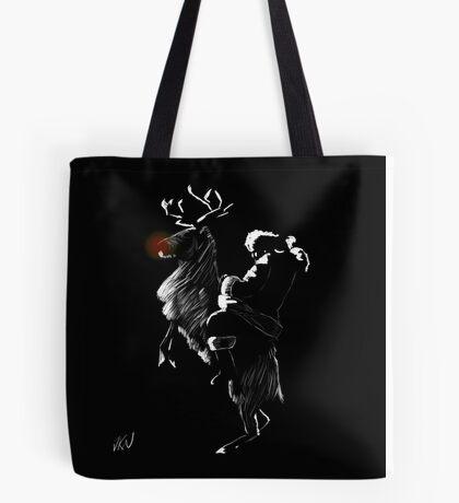 Time Lord Santa Tote Bag