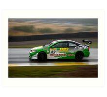 Eco Racing Art Print