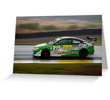 Eco Racing Greeting Card