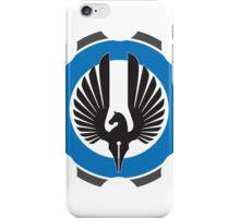 DarkHorse Design Logo Blue iPhone Case/Skin