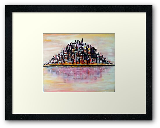 Urban Island by Matt Ware