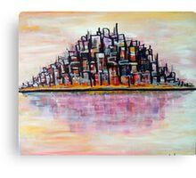 Urban Island Canvas Print