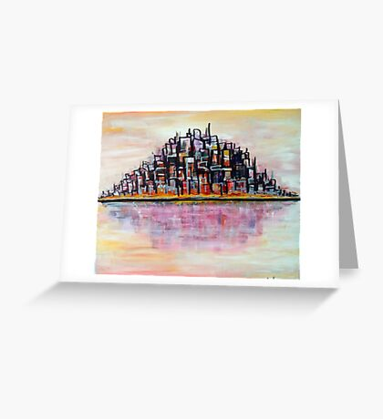 Urban Island Greeting Card