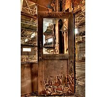 Rusty Entry Photographic Print