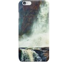 Iguazu Falls - Hitting the Rocks iPhone Case/Skin